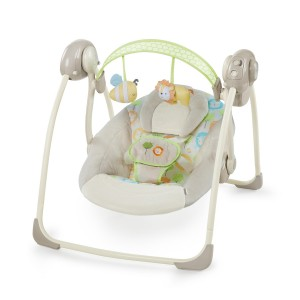 РЕЛАКСАТОР Soothe'n Delight Portable Swing - Sunny Snuggles ДО 9КГ BRIGHT STARTS