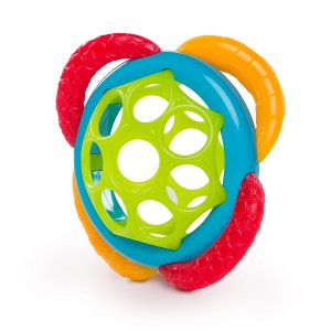 ИГРАЧКА ТОПКА GRASP AND TEETHER OBAL BRIGHT STARTS