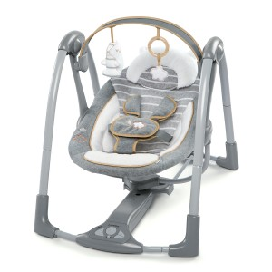 РЕЛАКСАТОР BOUTIQUE COLLECTION SWING 'N GO PORTABLE SWING ДО 9КГ BRIGHT STARTS