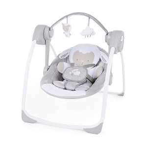 РЕЛАКСАТОР Comfort 2 Go Portable Swing - Cuddle Lamb ДО 9КГ BRIGHT STARTS