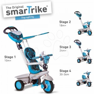 ТРИЦИКЛ DREAM TOUCH STEERING 4 IN 1 СИН 10M+ SMART TRIKE