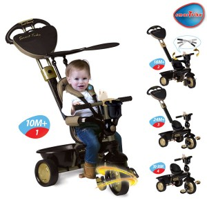 ТРИЦИКЛ DREAM TOUCH STEERING 4 IN 1 ЗЛАТЕН 10M+ SMART TRIKE