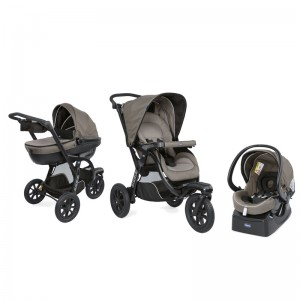 КОЛИЧКА TRIO ACTIV3 TOP KIT DARK BEIGE CHICCO