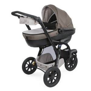 КОЛИЧКА TRIO ACTIV3 KIT DOVE GREY CHICCO
