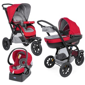 КОЛИЧКА TRIO ACTIV3 KIT RED BERRY CHICCO