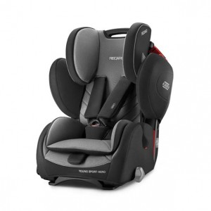 СЕДИШТЕ YOUNG SPORT HERO CARBON BLACK 9-36kg RECARO