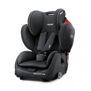 СЕДИШТЕ YOUNG SPORT HERO PERFORMANCE BLACK 9-36kg RECARO