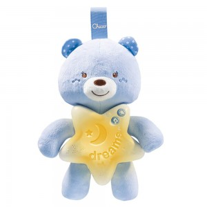 МУЗИЧКА ЛАМБА FIRST DREAMS GOODNIGHT BEAR BLUE CHICCO