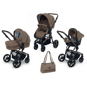 КОЛИЧКА IWOOD TRAVEL SYSTEM ELITE BEIGE ELM FOPPAPEDRETTI