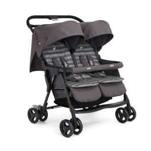 КОЛИЧКА AIRE TWIN TWIN BUGGY DARK PEWTER JOIE