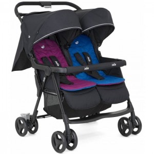 КОЛИЧКА AIRE TWIN TWIN BUGGY ROSY & SEA JOIE
